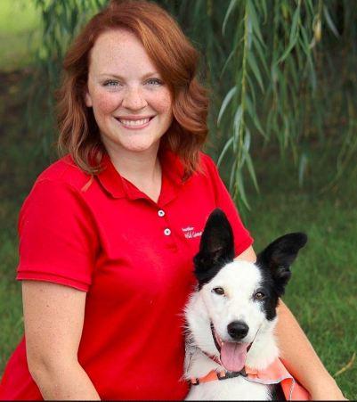 Amy Trainer w dog